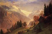 """New artwork for sale! - """" View Of The Grindelwald by Albert Bierstadt """" - http://ift.tt/2pi0YZk"""