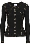 With the studded pencil skirt, this Herve Leger's jacket makes one stunning suit for any occasion. Very chic and sexy