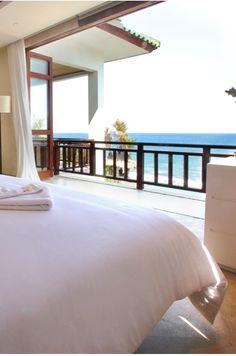 Bedroom with a view, Villa Rosita,  Bali, Indonesia. www.beyondvillas.com