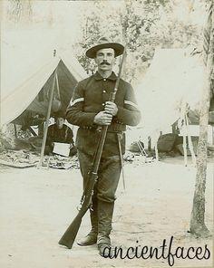 Davis Wilson Wolfcale, soldier in the ten week Spanish American War.