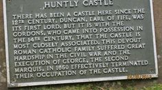 Information on castle - Picture of Huntly Castle, Huntly - TripAdvisor