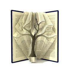 Book folding pattern FAMILY TREE 295 folds von SimplexBookFolding