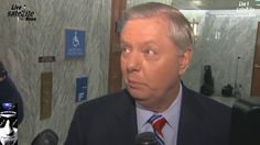 Lindsey Graham Comments on the FBI Comey Firing Scandalol lyin ted gaining some weight his button on his coat is about to bust open! #1linewed