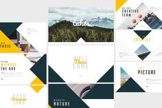 Tahes Keynote Template by Angkalimabelas on @creativemarket