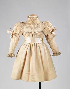 Dress   c.1890 The Metropolitan Museum of Art
