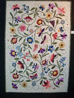 William Morris in Quilting: Pre-Christmas Show and Tell