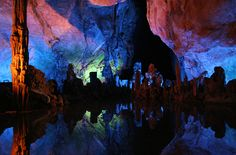 Reed Flute Cave, Guilin, China  Summer 2006
