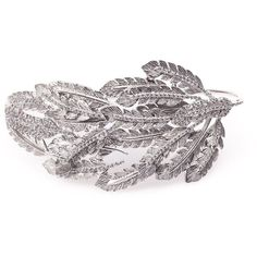 JOANNA LAURA CONSTANTINE 'Feather' ring (420 CAD) ❤ liked on Polyvore featuring jewelry, rings, joanna laura constantine, engraved jewelry, feather ring, feather jewelry and engraved jewellery