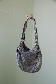 All the cool girls had a acid washed denim purse back in the day.. LOL
