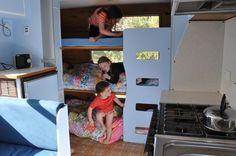 triple bunks - Foxs Lane: Caravan baby.