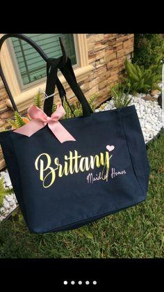 Wedding gift ideas, Tote bag for bridesmaids, wedding tote bag