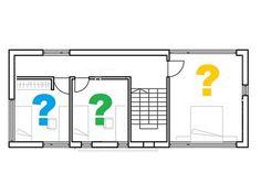 Stap 1: kies een geschikte plek. Een slaapkamer van zo'n 10 m² net boven de keuken is ideaal.