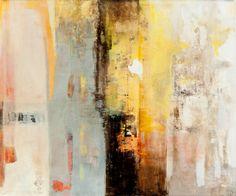 "Artist: Ines Benedicto; Acrylic 2014 Painting ""`#45`, Serie Caminos"""