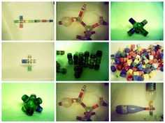 Juguete didáctico con materiales reciclados