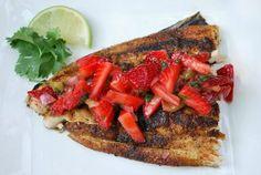 mahi with strawberry salsa weve got to use those fresh strawberries as ...