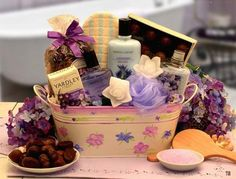 Gift Baskets For Women Anniversary Special Bath Luxury 11 Piece Set