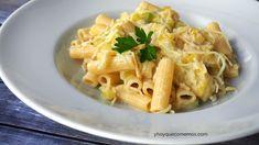 Pasta con Calabacín | Recetas | Y hoy que comemos