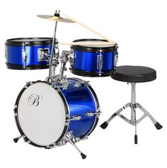 Drum kit  $98...and ear plugs for mom and dad ;)