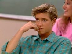 Zack from Saved by the Bell. Of course I had a huge crush on him. Lol