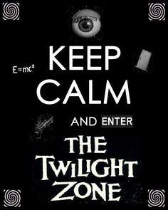 Love The Twilight Zone!                                                                                                                                                                                 More