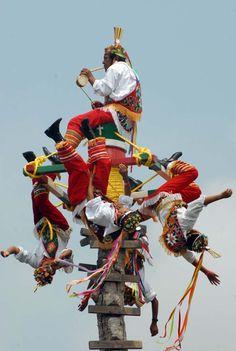 voladores de papantla | Los voladores de Papantla, protagonistas culturales del G20 | Proyecto ...