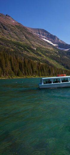 6164a268d538c97036f4816b9ffde0fb.jpg Lake Josephine in Glacier National Park, Montana | visitglacierpark.com via www.pinterest.com