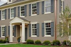 Dove\'s Wing-Exterior Colors - Inspirations | Light French Gray ...
