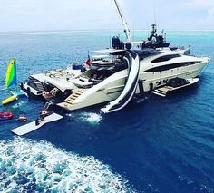 Huge Palmer Johnson #superyacht. We are using this as our #PhotoOfTheDay steal. #SuperyachtFinishingService