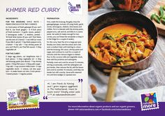 Delicious Khmer Red Curry! #organic #recipe #frankdekoning #code179 #natureandmore