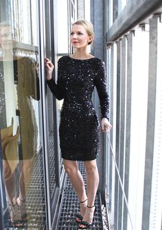 Party on - mein Silvesteroutfit Pepper And Gold Silvester Outfit Fashion Jennifer Asos Glitzerkleid