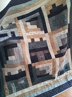 Large lap quilt in muted blues and greys. Fabric collection is Snowman Gatherings 2 by Primitive Gatherings. Hand quilted, top quality cotton, backing is a coordinating grey also cotton. Tree Quilt, Primitive Gatherings, Fabric Squares, Rose Cottage, Market Bag, Hand Quilting, Embroidery Thread, Linen Fabric, Gifts For Friends