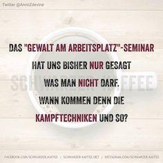 GEWALT AM ARBEITSPLATZ - SCHWARZER-KAFFEE