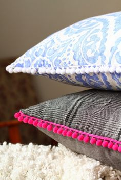DIY: Handmade pillows