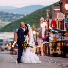 theres no more picturesque wedding venue than park city