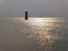 Tour des Anglais à marée haute, Pénerf Tour, Brittany, France, Bed, Water, Dolphins, English Language, Places, Gripe Water