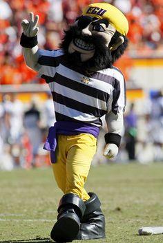 "East Carolina University ""The Pirate"""