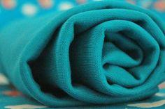 Stoffonkel - Bio-Bündchen Soft-Rib Uni-Dunkeltürkis  #stoffonkel #fabric #BIO #softrib #uni #cotton #rib #darkcyan