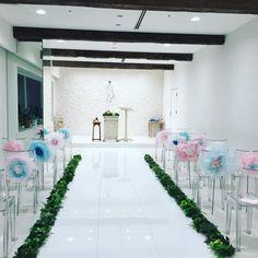 可愛いは作れる♡結婚式の飾りつけに使えるペーパークラフトアイデア4選* | marry[マリー]
