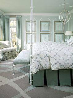 Traditional Bedroom master bedroom Design Ideas, Pictures, Remodel and Decor Dream Bedroom, Home Bedroom, Bedroom Decor, Serene Bedroom, Bedroom Ideas, Bedroom Photos, Feminine Bedroom, Bedroom Designs, Wall Decor