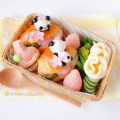 Panda Sandwich Bento