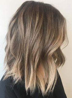 35 Balayage Hair Color Ideas for Brunettes in The French hair coloring tec. - - 35 Balayage Hair Color Ideas for Brunettes in The French hair coloring technique: Balayage. These 35 balayage hair color ideas for brunettes in . Balayage Hair Dark Blonde, Heavy Blonde Highlights, Fall Blonde Hair, Balayage Lob, Dark Blonde Hair Color, Ombre Hair Color, Hair Color Balayage, Cool Hair Color, Hair Colors