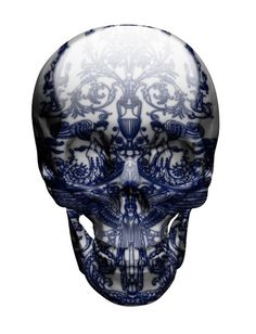 Art and destruction collide with these gorgeous painted skulls via @mymodernmet