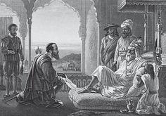 Vasco da Gama foi o primeiro português a estabelecer contato com a Índia, em 1498 | <i>Crédito: divulg