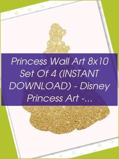 Princess wall art 8x10 Set of 4 (INSTANT DOWNLOAD) - Disney princess art - Disney princess wall art - Cinderella wall art | Disney Princess Wall Art |  Disney Princess Bedroom   | Ballerina Princess Nursery | Disney Princess Room Accessories. #dreamhomes #Products Disney Princess Bedroom, Princess Wall Art, Princess Nursery, Princess Room, Teenage Girl Bedrooms, Girls Bedroom, Room Accessories, Ballerina, Cinderella