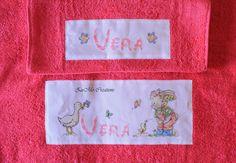 Somebunny to Love   cross stitch towels