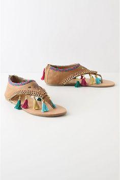 Tassle Sandals, so cute!