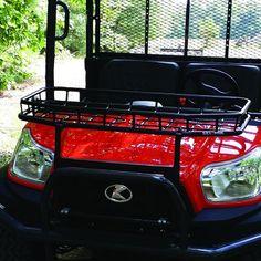 Kubota RTV x900 front rack Yard Tools, Kubota, Golf Carts, Atv, Transportation, Ideas, Atvs, Mtb Bike, Golf Cart Bodies