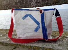 """Sail bag / Sailcloth/Beach/ Bag/ Tote """"rough""""  from RoughElement by DaWanda.com"""