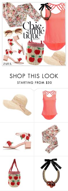 """""""Zaful"""" by teoecar ❤ liked on Polyvore featuring Hat Attack, Mismash, Marni, Vince Camuto and zaful"""