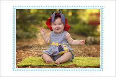 """Here are some highlights from baby girl """"E's"""" 6 month baby session at the park. She was full of giggles and smiles and her Mama managed to get a few in with her at the end!"""